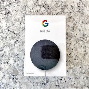 SOLD Google Nest Mini - 2nd generation - Charcoal
